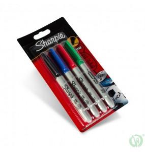 Sharpie 4x Fine Point Marker Set
