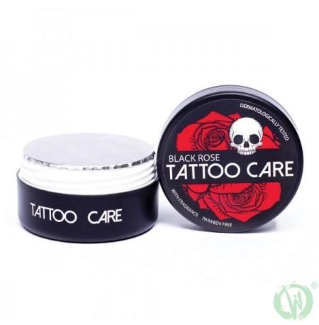 TATTOO CARE Black Rose