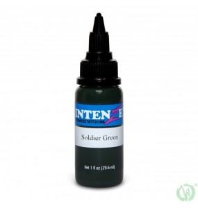 Intenze Ink Soldier Green 30ml