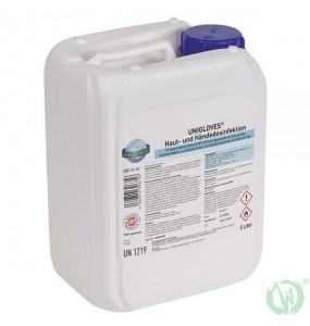 Unigloves sredstvo za dezinfekcijo kože in rok 500ml
