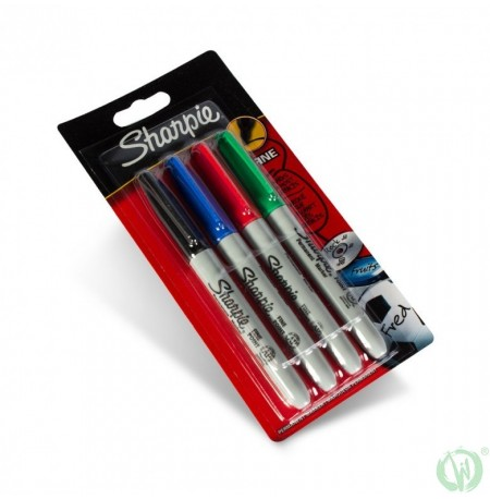 Sharpie 4x Fine Point Marker Set